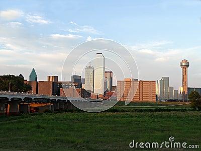 Горизонт Далласа Техаса