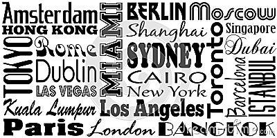 города известные