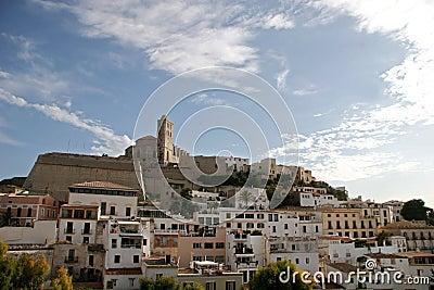городок Испании ibiza