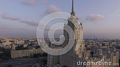 Гостиница Украина и обваловка акции видеоматериалы