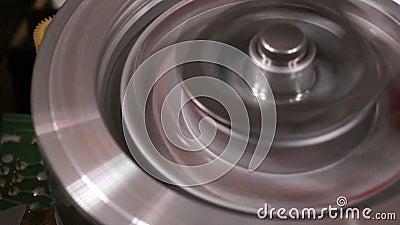 Головка панорамы VCR 2 сток-видео