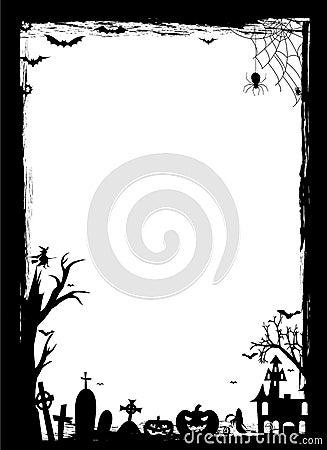 Граница Halloween