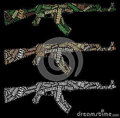 Графики винтовки AK47
