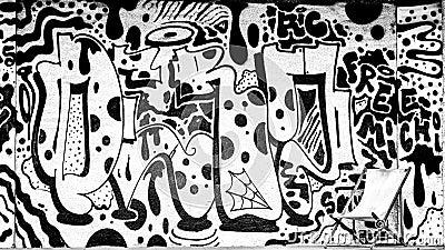 легкие чёрно белые картинки