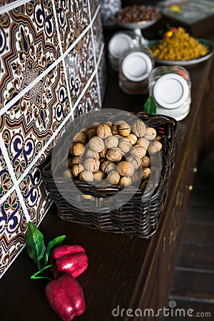 грецкий орех корзины