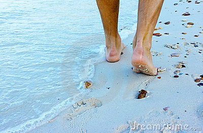 гулять пляжа