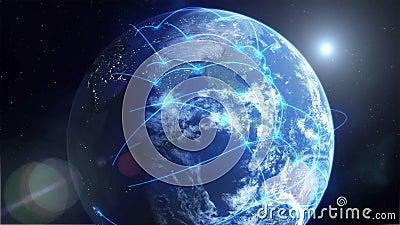 Глобальная вычислительная сеть - синь