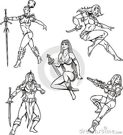 Девушки Амазонкы