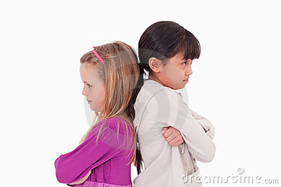 Девушки сумашедшие на одине другого