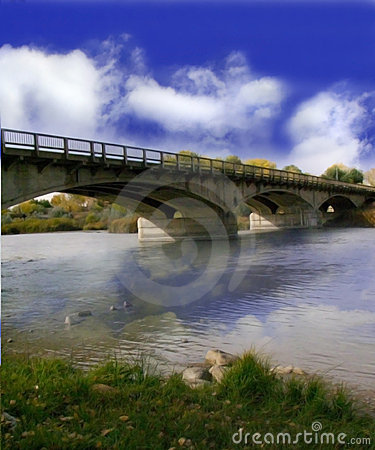 день моста пасмурный
