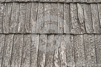 Деревянная крыша гонта