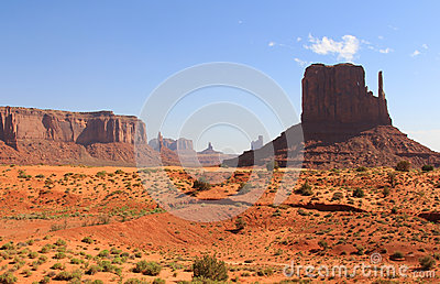 Долина памятника, Юта, США