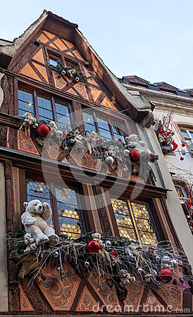 Дом в Страсбург Редакционное Фото