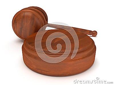 Деревянный молоток.