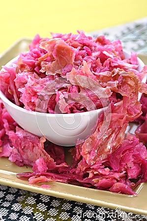 Естественный sauerkraut
