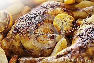 жаркое цыпленка