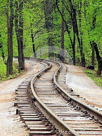железнодорожный след