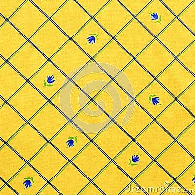 желтый цвет ткани