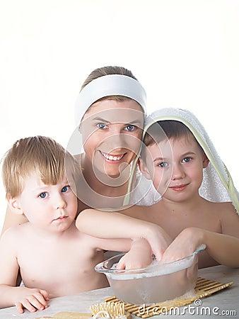 женские мыть