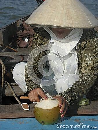 женщина Вьетнама