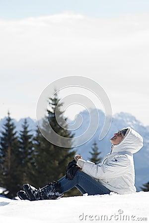 Женщина зимы