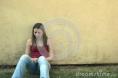 женщина стены