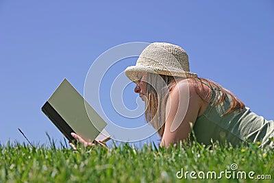 женщина чтения