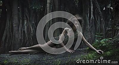 женщина eco