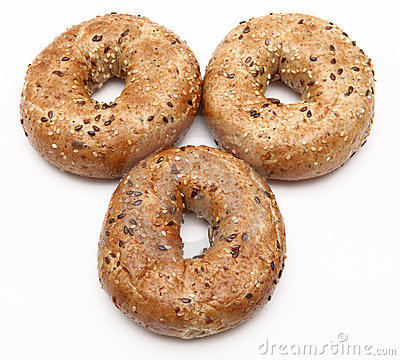 завтрак bagels