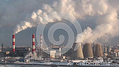 Загрязнять завод