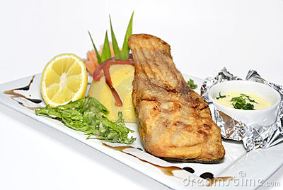 зажаренные рыбы