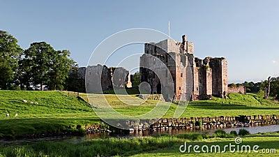 Замок Brougham сток-видео
