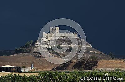 Замок Penafiel, Valladolid