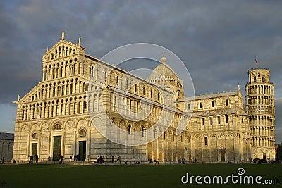 заход солнца аркады miracoli dei