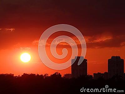 заход солнца 4