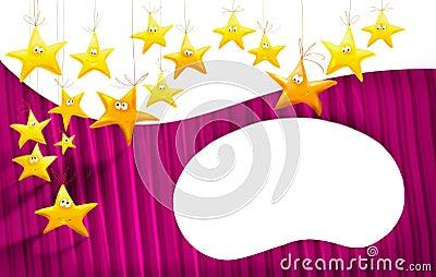звезды шаржей предпосылки