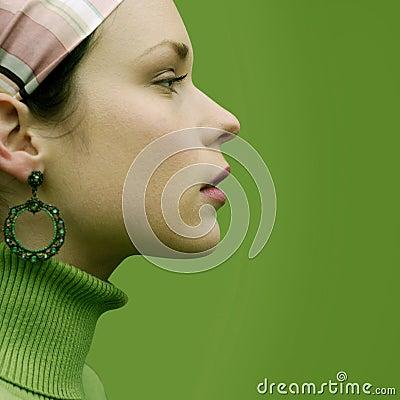 зеленая милая