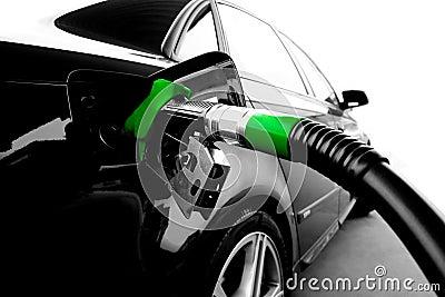 зеленый цвет газа топлива