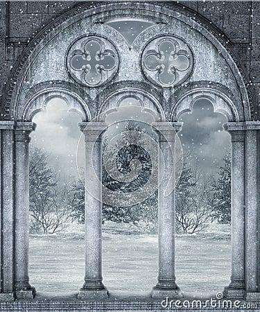зима пейзажа 19
