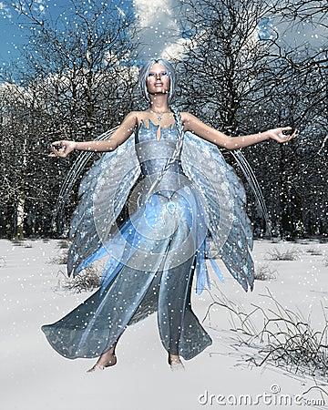 зима духа