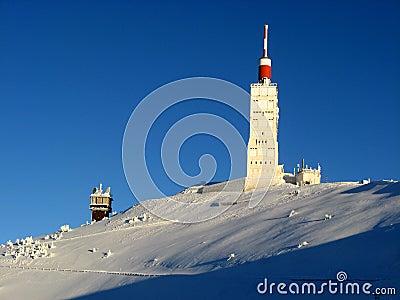 зима ventoux mont