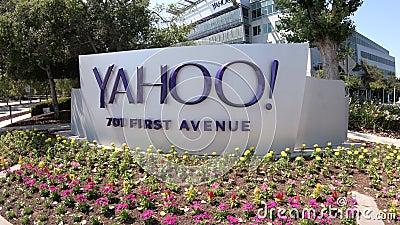 Значок Sunnyvale Yahoo акции видеоматериалы