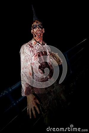 зомби прогулки la 21 Редакционное Фото