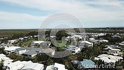 Зона отметки uppper Coomera Gold Coast Квинсленда Австралии сток-видео