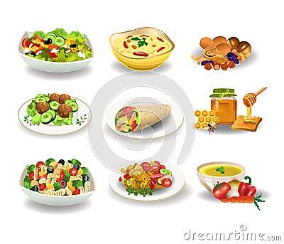 здоровая и вредная еда