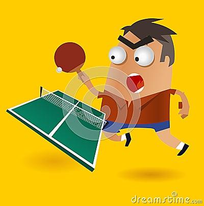 Играть пингпонг