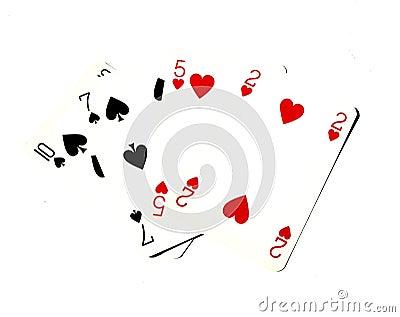 Играя карточки
