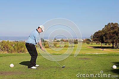 игрок в гольф 54