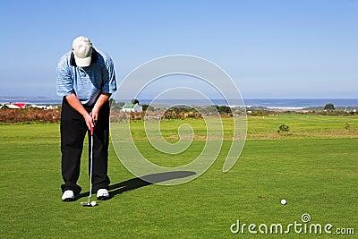 игрок в гольф 55