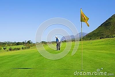 игрок в гольф 63